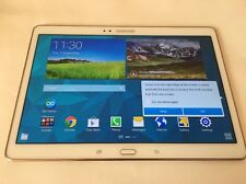Samsung Galaxy Tab S SM-T805 16GB, Wi-Fi + 4G/LTE Unlocked-10.5in- White-SUPERB