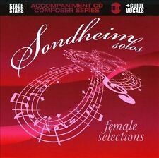 Sondheim Solos: Female Selections by Karaoke (CD, Jun-2010, Stage Stars Records)