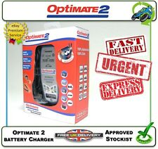 OPTIMATE 2 NEW BATTERY CHARGER 100% SAFE 100% AUTOMATIC MAINTENANCE CARE