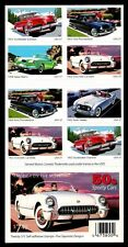 2005 - SPORTY CARS OF THE 1950's -#3935b Full Mint Pane of 20 Postage Stamps