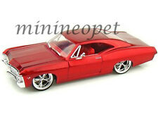 JADA BIGTIME 96985 1967 67 CHEVY IMPALA SS 1/24 DIECAST MODEL CAR RED