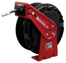 "Reelcraft RT435-OHP Hose Reel 1/4"" x 35ft. 5000 psi for Grease Service with Hose"