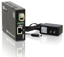 Gigabit Ethernet to single-mode BiDi fiber media converter un-managed 2Km B type