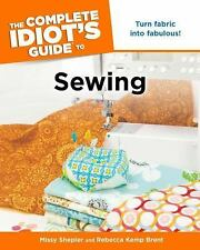 The Complete Idiot's Guide to Sewing-ExLibrary