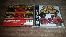 READY 2 RUMBLE BOXING BLACK LABEL PLAYSTATION 1 PS1 LN 100% PERFECT  COMPLETE!