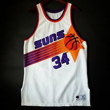 100% Authentic Charles Barkley Champion Suns NBA Jersey 48 XL - kidd