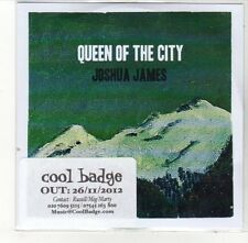 (DL194) Queen of the City, Joshua James - 2012 DJ CD