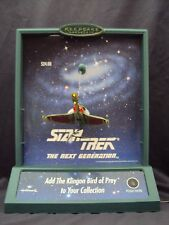 Star Trek Hallmark Ornament display Bird of Pray