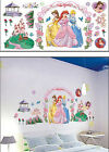 DISNEY PRINCESS & CASTLE,FLOWER GARDEN Kids Wall sticker for Kids room/ Nursery