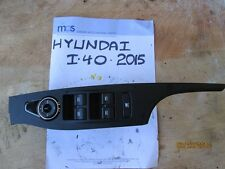 2015 HYUNDAI I40 FRONT RIGHT WINDOW SWITCH MASTER 93570-3Z550 39R496-1000