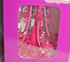 BRAND NEW CREATOLOGY MY LOCKER CHANDELIER LIGHT LOCKER MOTION SENSOR BRIGHT PINK
