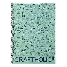 Craftholic 8mm Lined Spiral Notebook Note Pad School Supply : 1