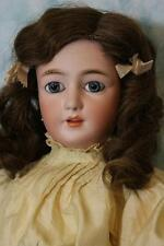 """22"""" Antique Simon Halbig Lady Mold #1159 Lady Body with Molded Bust Beautiful!"""