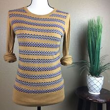 Urban Outfitters Sweater Coincidence & Chance Long Sleeve Medium Geometric Print
