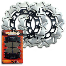 Yamaha Front High Quality Brake Rotor + Pads XJ 600 S Diversion & N [1998-2003]