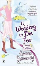 A Wedding to Die For (Yellow Rose Mysteries) by Sweeney, Leann, Good Book