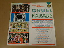 ORGAN LP / JOHNNY HOES PRESENTEERT: ORGELPARADE