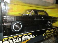 62 Pontiac Catalina 421 SD 1/18 ERTL American Muscle CHASE Black chrome 1962