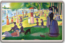 GEORGES PIERRE SEURAT - SUNDAY AFTERNOON ON THE ISLAND LA GRANDE JATTE MAGNET