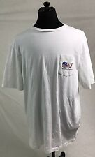 Men's Vineyard Vines White Pocket T Shirt Whale Flag Stars Stripes XL