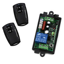 110v 220V RF Wireless Remote Control Switch And Controller System Garage door