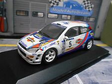FORD Focus RS Rallye WRC 2000 #5 McRae Spain Winner catalunya Minichamps 1:43