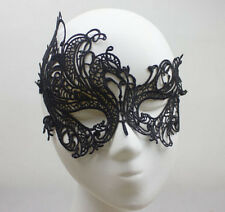 New Masque Venitien Dentelle Bal Catwoman Carnaval Noir Black Mask Lace Eye Mask
