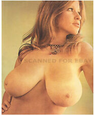 Roberta Pedon model print nude big busty breasts female photo picture woman girl