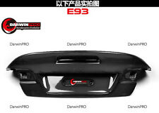 2007-2012 BMW 3 Series/M3 E93 Convertible CSL Style Carbon Fiber Trunk Body Kit