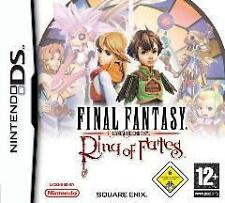 NINTENDO DS FINAL FANTASY RING OF FATES CRYSTAL CHRONICLES Top Zustand