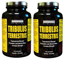 240 x 500mg HARDCORE TRIBULUS TERRESTRIS TESTOSTERONE BOOSTER PILLS 95% SAPONINS