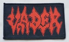 "Vader ""Logo"" Woven Patch - ultimate incantation tibi et igni necropolis litany"