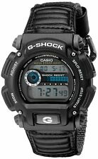 Casio NEW G-Shock DW-9052V-1 Digital Chronograph Watch Black Fabric Band
