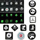 10PCS Velcro Patches JTG Ill Gear Tad Surefire Tactical Patch EDC Noctilucent