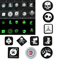 10PCS Velcro Patches JTG Ill Gear Tad Surefire Tactical Patch EDC Noctilucent