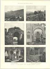 1890 Ancient Turkish Capital Broussa