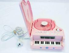Hello Kitty Piano Shaped Stereo CD Digital Clock Radio #10845