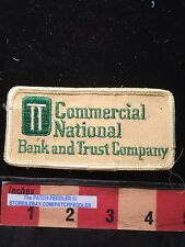 COMMERCIAL NATIONAL BANK & TRUST Company Advertising Patch Banking Industry 61T3