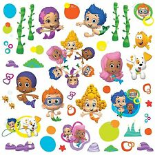 BUBBLE GUPPIES 44 BiG Wall Decals DEEMA GIL OONA Room Decor Stickers MERMAIDS