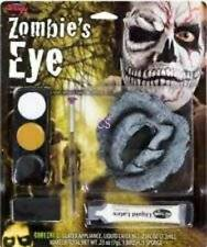 NIP-Zombie Monster Skull Latex Fake Skin Eye Halloween Quality Makeup Kit