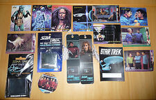 Star Trek Collectibles Lot- keychains,bookmarks,7 Eleven/Jack in the Box cups+++