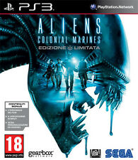 Aliens Colonial Marines Limited Edition PS3 Playstation 3 IT IMPORT SEGA