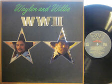 """Waylon Jennings and Willie Nelson - WWII   (RCA AHL1-4455)  (""""Last Cowboy Song"""")"""