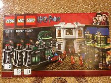 LEGO 10217 - HARRY POTTER - Diagon Alley - INSTRUCTION MANUAL ONLY