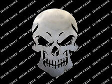 Skull 09 Metal Stencil Wall Art Garage Hot Rat Rod Motorcycle Chopper Biker