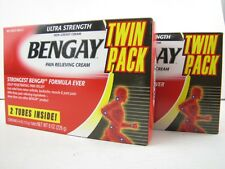 4X 4oz Bengay Ultra Strength Pain Relieving Cream-Muscle Arthritis Joint Relief
