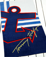 TOMMY HILFIGER BEACH TOWEL BLUE ANCHOR MULTI