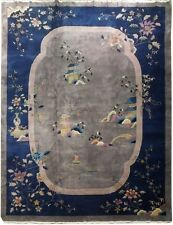 Art Deco Chinese 10x13 Rug ANTIQUE BEAUTY