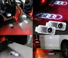 2pcs AUDI Car Door LED Ghost Shadow Light Logo Projector Laser Courtesy