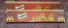 LOT x2 Mysore Sandal SANDALWOOD Incense two 20 Stick boxes USA SELLER Free Ship